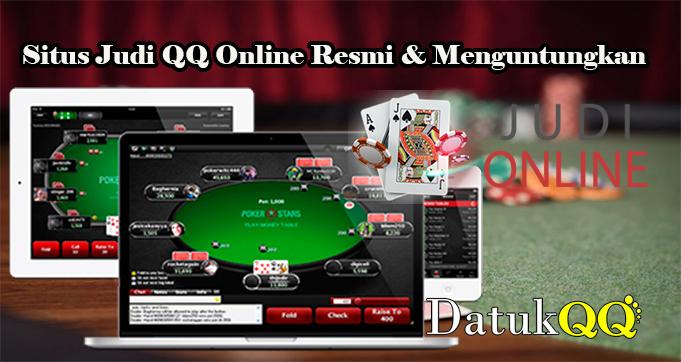 Situs Judi QQ Online Resmi & Menguntungkan